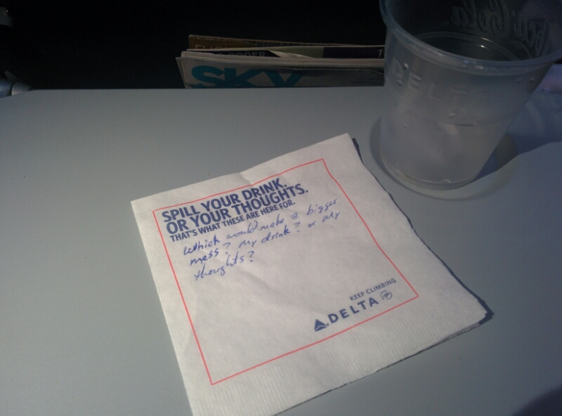 Message on a Napkin